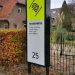 reclameborden bewegwijzering display