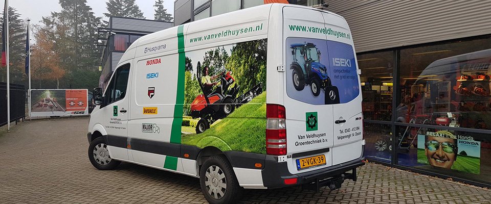 autobelettering - autoreclame carwrapping
